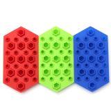 창조적인 3D 다이아몬드 형 실리콘 아이스 큐브 쟁반