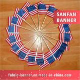 Bandeira à mão popular dos esportes do preço de fábrica