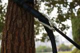 Doppeltes Hängematten-Starter-Paket. Enthält übergrosse Nylonhängematte, Baum-Brücken und Carabiners