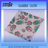 Kundenspezifisches Silk Firmenzeichen gedruckter Microfiber Brille-Putztuch-Lieferant