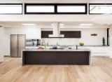 Moderno retirar o armário de cozinha com cesta do armazenamento