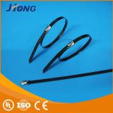 Serre-câble enduit fabriqué à la main professionnel d'acier inoxydable de PVC