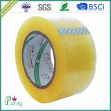 Ninguna cinta de empaquetado de poco ruido clara auta-adhesivo de la contaminación de ruido BOPP