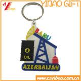 Изготовленный на заказ резиновый мягкий PVC Keychain (YB-LY-K-03)