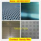 Плетение сетки листа алюминиевого металла нержавеющей стали слабой стали Perforated