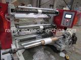 Tipo vertical película plástica de OPP que raja la máquina de Rewinder