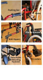 [توبمدي] [مديكل قويبمنت] [سلف-بروبلّد] ألومنيوم كرسيّ ذو عجلات مع [أنتي-تيبّرس]
