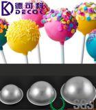 Кухня Bakeware прессформы инструментов прессформы шарика печенья выпечки олова лотка торта сферы шарика DIY алюминиевая отливает бомбу в форму ванны