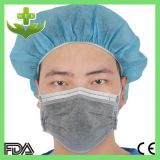 Earloop를 가진 Hubei MEK Wuhan Xiantao Nonwoven Dust Mask Fabric FDA 세륨 ISO Cetificate Industrial SMS OEM Design Black 4 Ply Disposable Carbon Face Mask
