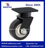 1 Tonne Schwer-Aufgabe Caster mit Black PU Wheel Total Brake