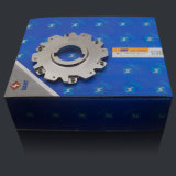 Cortador de trituração Indexable do lado e da cara para a máquina do torno do CNC