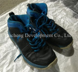 Grosser Größen-Mann u. Dame Sport Used Shoes, lederne Schuhe, Leasure Schuhe für Afrikaner (FCD-005)