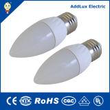 Candela economizzatrice d'energia della lampada LED dell'indicatore luminoso di lampadina 3W di E14 E27