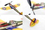 Modelo accionado Kit-PT1701 del juguete del plano de la espuma de la goma