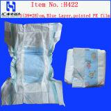 Fabricant jetable de couche-culotte de bébé de bébé en gros de couche-culotte en vrac en Chine (H422)