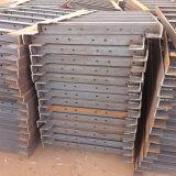 Componente eléctrico galvanizado de la estructura de acero de la INMERSIÓN caliente