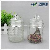330ml 11oz Empty Storage Cookie Candy Glass Jar con Glass Lid