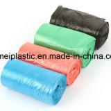 Biologisch afbreekbare Vlakke Bodem die Plastic Vuilniszak verpakken