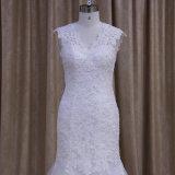 Ganz über Spitze-Nixe-Hochzeits-Kleidern
