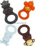 Kundenspezifische bildende Plastikbaby-Sorgfalt GummiTeethers für Zähne