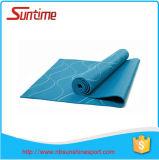 Natte durable et bon marché de yoga de PVC, natte de yoga