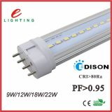 4pin LED remplacent Dulux L le tube LED 2g11 de Pll