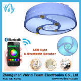 Emitting registrabile Color LED Lamp con Bluetooth Speaker