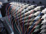 De fibra óptica Patch Panel (ODF) con fibras y adaptadores Fully Loaded