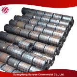 Raja del acero de carbón del precio de la bobina del tubo de acero y bobina de acero laminadas en caliente materiales primeras del acero