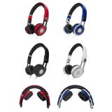 Adjustble pieghevole Style Headset Stereo Heavy Bass Headphone con il Mic