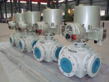 Premier robinet à tournant sphérique électrique d'entrée d'Opetare
