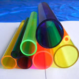 Pipe colorée de l'acrylique PMMA de qualité