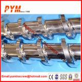 Gummimaschinen-bimetallische Schraube und Zylinder