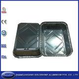 Популярные устранимые контейнеры Takeaway алюминиевой фольги