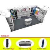 Cabine de alumínio do indicador do carrinho da exposição do projeto de Reusable&Portable