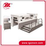 Máquina que corta con tintas automática de la base plana de Yw-105e con el sistema de calefacción
