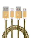 Caractéristiques de transfert d'USB 2.0 et câble de remplissage pour le téléphone androïde