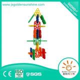 Brinquedo inteletual do tijolo do edifício das crianças na forma da neve com certificado de Ce/Ios