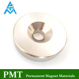 N50 de Magneet van NdFeB van de Ring van het Gat van Counterbore met het Materiaal van het Neodymium