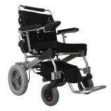 LiFePO4 건전지를 가진 휴대용 경량 무브러시 접히는 힘 휠체어 전자 휠체어