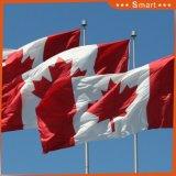 Изготовленный на заказ сделайте водостотьким и национальный флаг Канады национального флага Sunproof