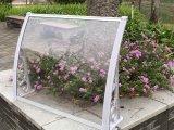 Toldo exterior ajustable del material para techos del manual impermeable