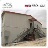 Casa prefabricada del emparedado del campo de Temporaty del edificio residencial del precio de fábrica del bajo costo