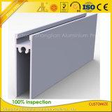6063 frames de alumínio anodizados para o sistema das portas deslizantes do armário