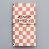 Handmade книга дневника перемещения нестандартной конструкции, печатание тетради с упругостью