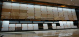 コーヒーカラーBulattiの二重ローディングの建築材料の磨かれた磁器の床タイル