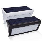 48 LED Outdoor Solar Powered Microondas Radar Sensor de Movimento Luz 800lm luz de segurança sem fio / luzes de parede / luzes noturnas com 4 modo de iluminação