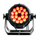 La vendita calda IP65 di Rasha impermeabilizza il proiettore di PARITÀ dell'indicatore luminoso 18*10W 4in1 RGBW/RGBA LED di PARITÀ del LED per il partito esterno di evento