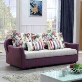Meubles modernes de sofa de tissu de dormeur Cum le bâti