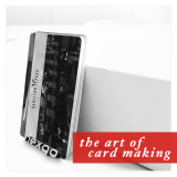低価格の卸売Cmyk両側の印刷のバーコード穴パンチPVC磁気ストライプのカード